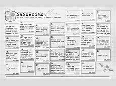 NaNoWriMo Calendar by reapthebeauty on DeviantArt
