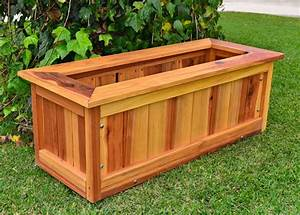 Forever Redwood Planters, Prefinished Plywood Houston