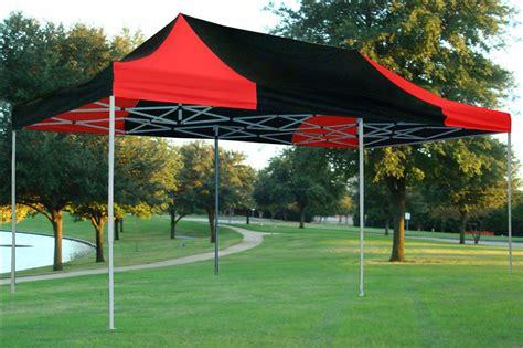black  red pop  tent canopy gazebo