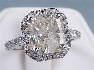 440 ctw radiant cut diamond engagement ring With radiant cut diamond wedding rings