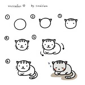 how to draw cats how to draw a cat how to