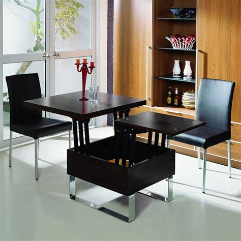 Often termed as transforming tables, they offer multiple functions in a compact design. MODERN SENSIBILITY Milan - Convertible Coffee Dining Table | Sounds Fantastic