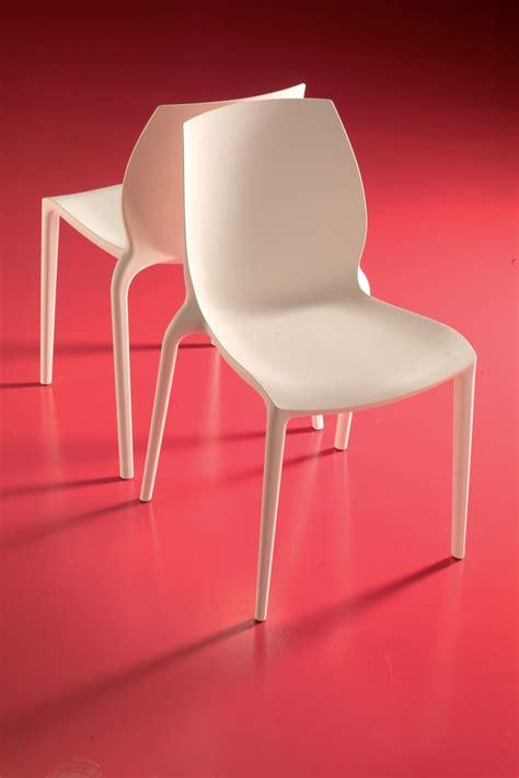 chaise couleur hidra chaise empilable de bontempi casa en polypropylène