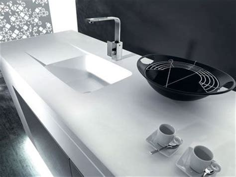 plan de travail cuisine evier integre bien choisir évier disposition matériaux nombre de