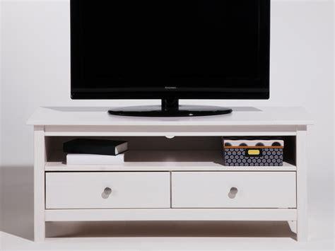 largeur bar cuisine meuble tv bas en bois massif avec 2 tiroirs longueur 110cm
