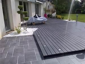 terrasse bois composite ma terrasse With idee de terrasse en composite