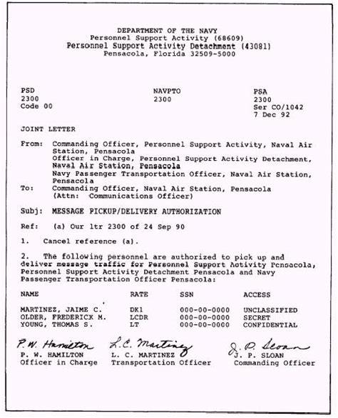 navy manual  correspondence qpdbrbw