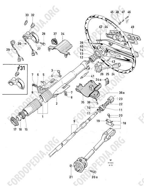 Ford Granada Mk2 Wiring Diagram by Ford F 250 Steering Parts Diagram Wiring Diagram Fuse Box
