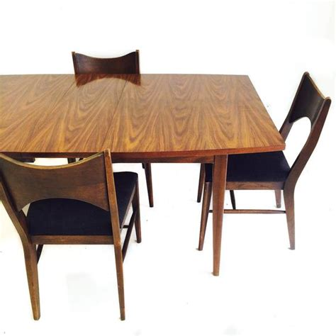 broyhill dining set with 4 chairs atomic furnishing design
