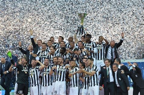 Juventus Becomes Italian Serie A Champions 2014-2015 Season