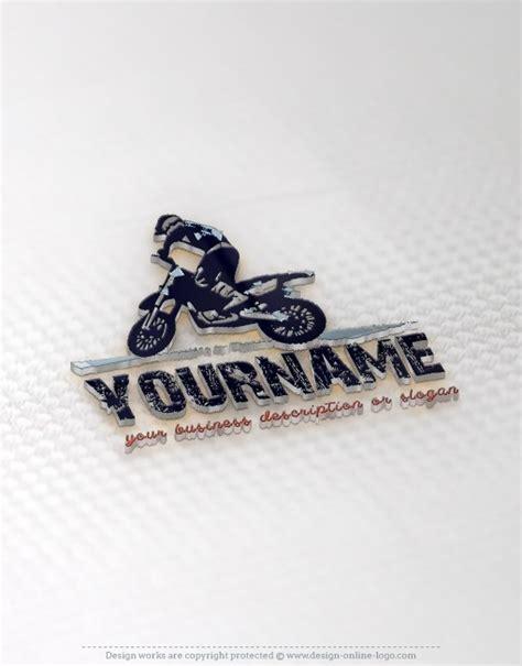 exclusive design motorcycle rider logo compatible