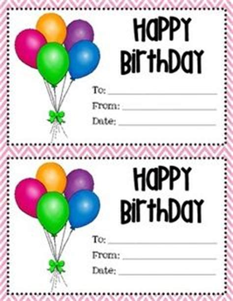 printable birthday gift certificate images gift