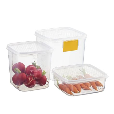 tellfresh square food storage  container store