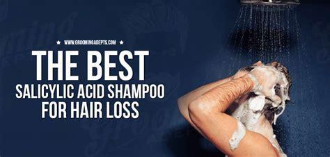 salicylic acid shampoo tackle hair loss