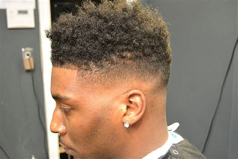 curly high top fade nappy tapper pinterest high tops awesome  african americans
