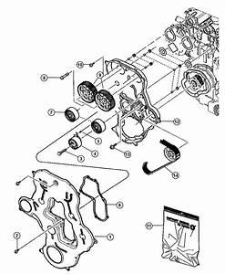2011 Dodge Caliber Gear  Balance Shaft  Engine  Belt