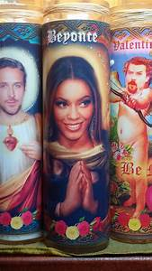 "Beyonce Candle - 8"" Pop Star Tribute Devotional Candle ..."