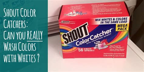 color catchers for laundry shout color catchers review can you really get away