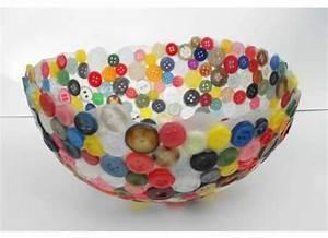 Knöpfe Selber Machen : vase aus kn pfe selber basteln dekoking diy bastelideen dekoideen zeichnen lernen ~ Frokenaadalensverden.com Haus und Dekorationen