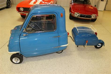 'World's Smallest Production Car,' the Peel P50, for sale ...