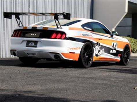 mustang gt  adjustable track wing  apr
