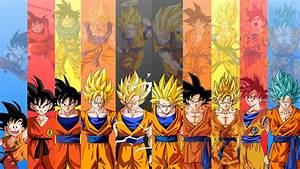 Goku Evolution Dragon Ball Wallpaper #1339 Wallpaper ...