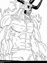 Demon Line Coloring Xlxl Lx Skullface Waiting Template Deviantart sketch template