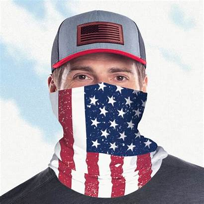 Gaiter Neck Custom Face Usa Masks Clear