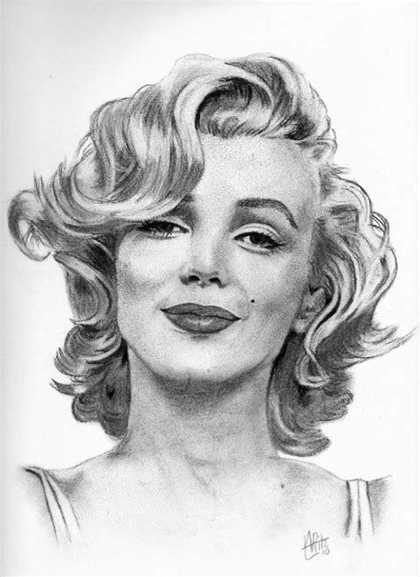 Drawing Marilyn Monroe !  Marlin Monroe♥  Pinterest