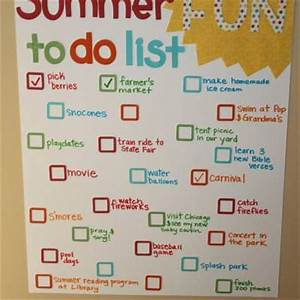 Summer Fun To Do List {Summer Activities} Tip Junkie
