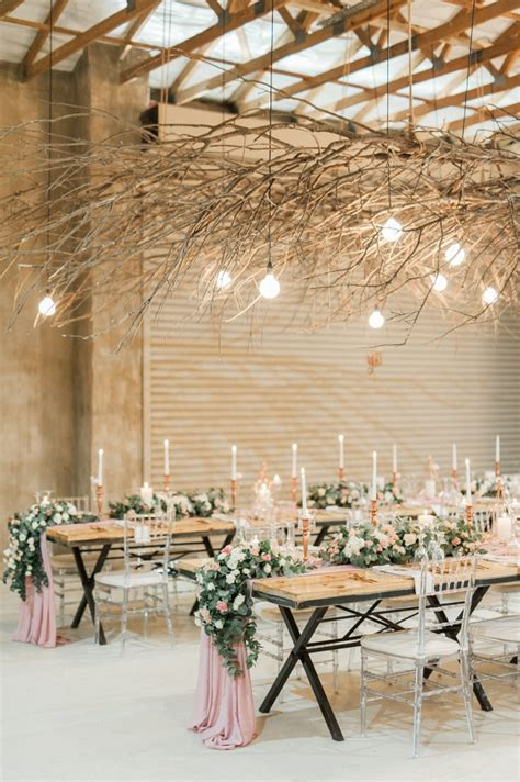 blush rose gold south african wedding aisle society