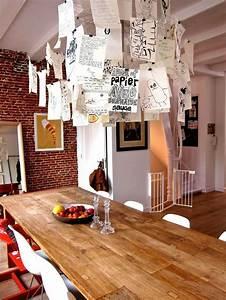 Lampe Mit Zetteln : la lampe zettel d 39 ingo maurer beleuchtung treppenlicht ~ Michelbontemps.com Haus und Dekorationen