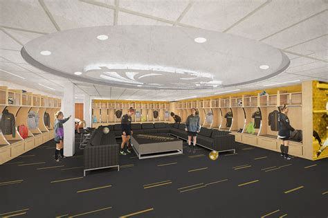 uwm womens soccer locker room community design solutions