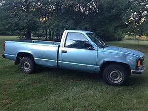 Sell Used 1992 Chevrolet C1500 Light Blue Cheyenne Pick Up