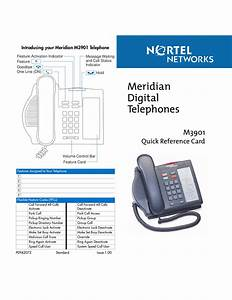 Download Free Pdf For Nortel Meridian M3901 Telephone Manual