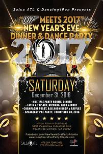 New Year's Eve 007 Meets 2017 Dinner & Dance Party ...
