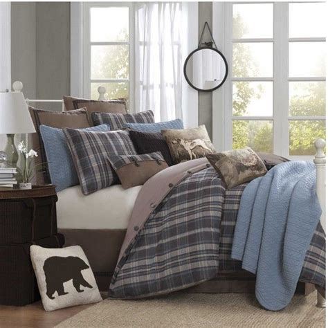 Woolrich Bed by Hadley Plaid Bedding By Woolrich Bedding Home Decorating