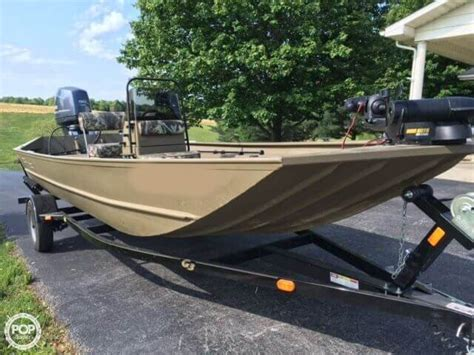 Used G3 Aluminum Fishing Boats by 2014 Used G3 Gator Tough 1860 Aluminum Fishing Boat For