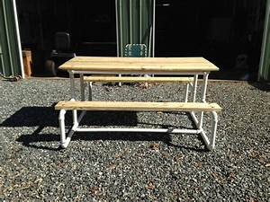Useful Picnic table plans pinterest ~ made project by wood
