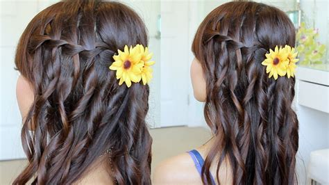 Waterfall Braid Hairstyle On Yourself