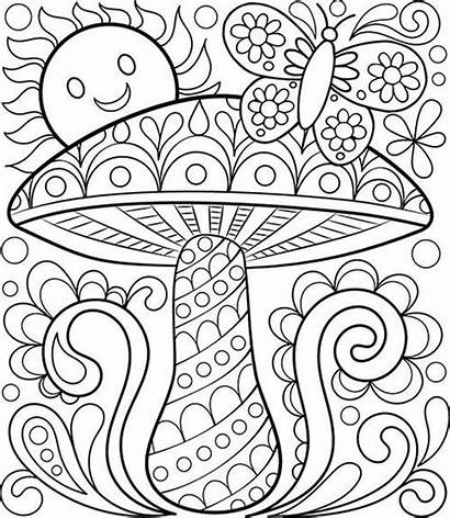 Coloring Pages Adults Adult Easy Printable Getcolorings