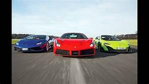 Ferrari Vs Lamborghini : ferrari 488 gtb vs lamborghini hurac n vs mclaren 675 lt youtube ~ Medecine-chirurgie-esthetiques.com Avis de Voitures