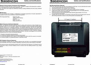Fast5260 Fast 5260 Home Router User Manual Sagemcom Sas
