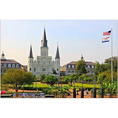 New Orleans Homes and Neighborhoods » Jackson Square in