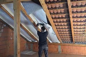 Zwischensparrendämmung Ohne Dampfbremse : dach isolieren ~ Lizthompson.info Haus und Dekorationen