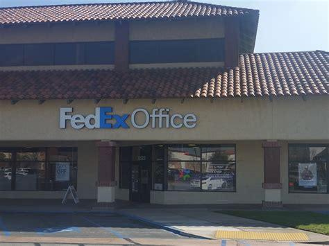 Ship Fedex by Fedex Office Print Ship Center Chino California Ca