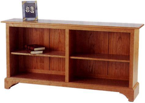 Horizontal Bookcase