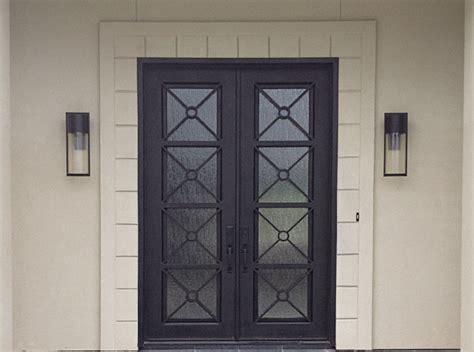custom iron doors custom iron door finishes iron doors plus