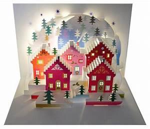 Pop Up Karte Weihnachten : we pop up 3d karte weihnachten advent gru karte weihnachtsstadt mit tannen 16x11cm 509712 ~ Buech-reservation.com Haus und Dekorationen