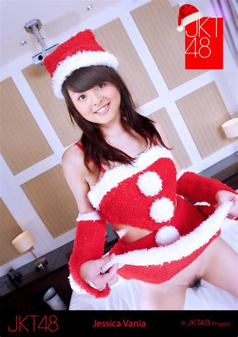 jessica vania jkt48 telanjang edisi natal roofimugen